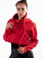 TECHNICAL CROPPED HOODIE