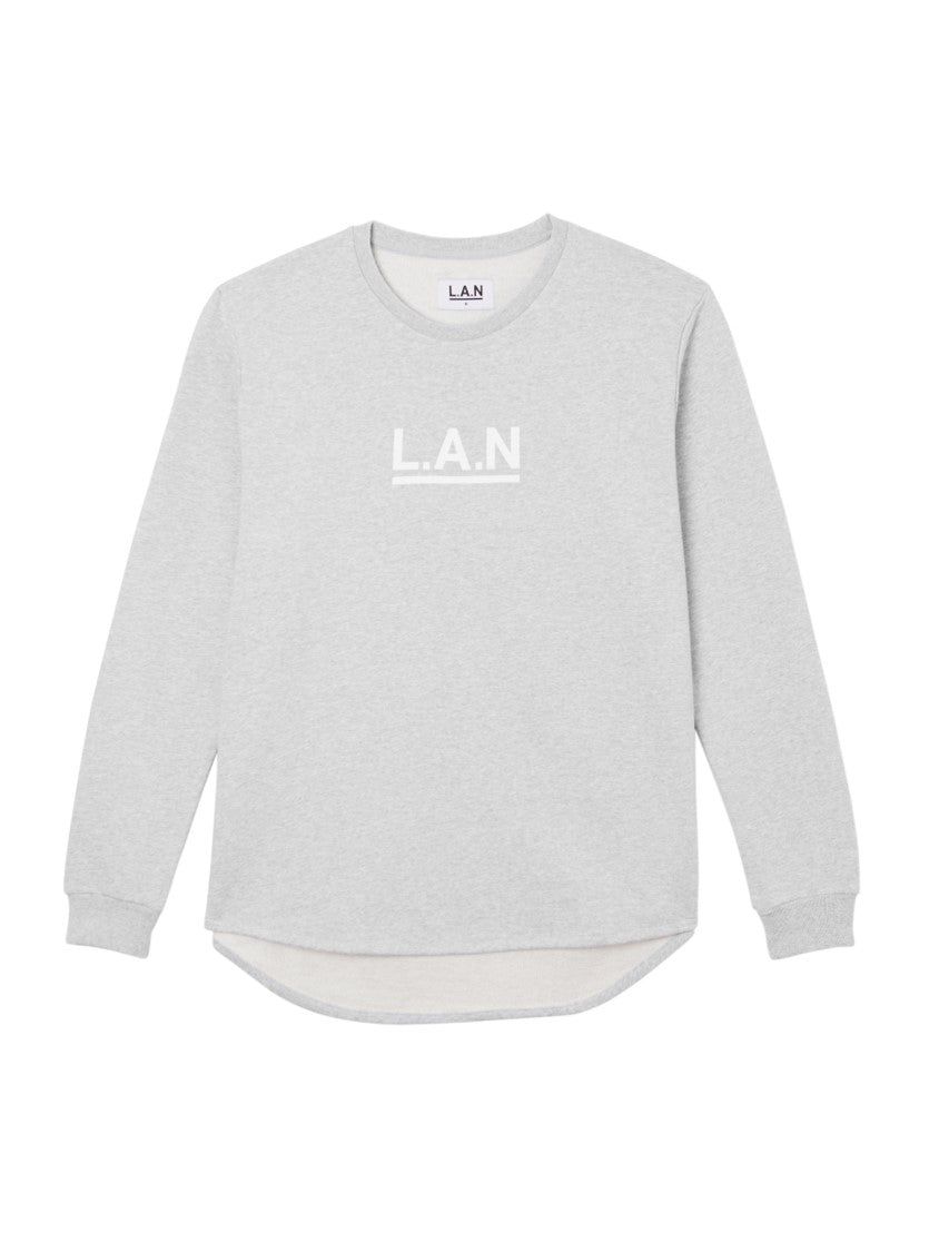 L.A.N CURVED SWEAT GREY
