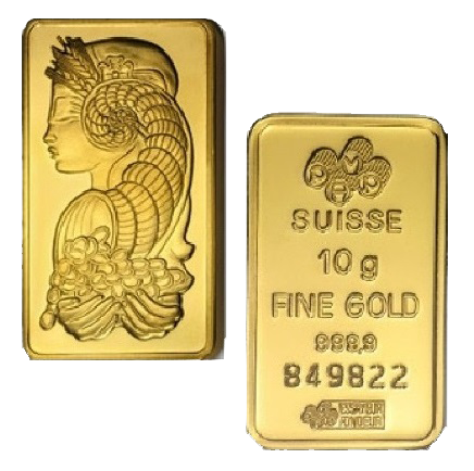 Gold Bullion Bars / Ingots