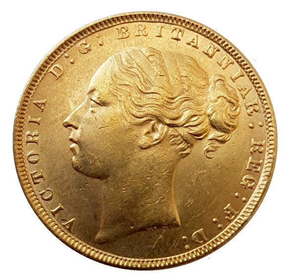 Queen Victoria Young Head Sovereigns