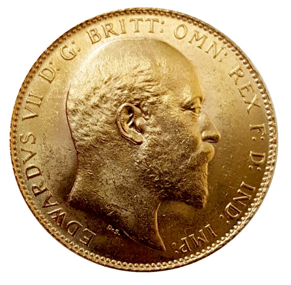 King Edward VII Sovereigns