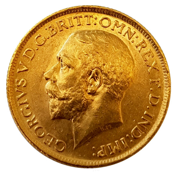 King George V Sovereigns