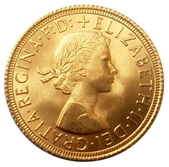 Queen Elizabeth II Sovereigns (BU 1957-Date)