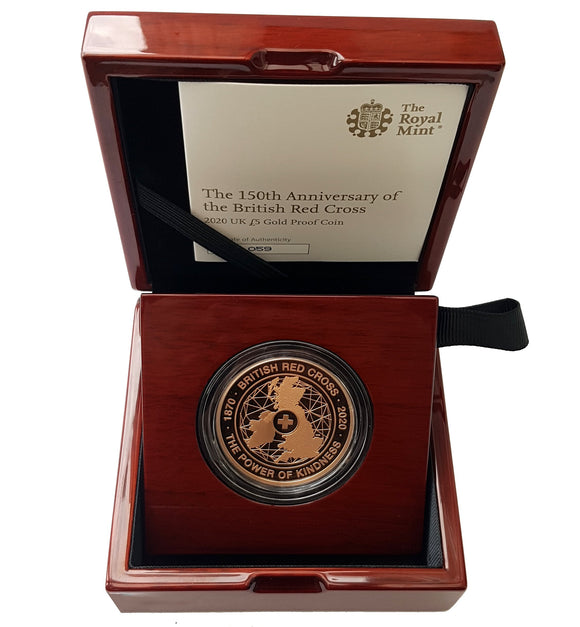 Queen Elizabeth II Proof / BU Five Pound