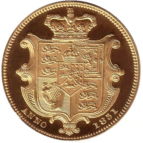 10 - The Sovereigns of King William IV (1830-1837) pt1