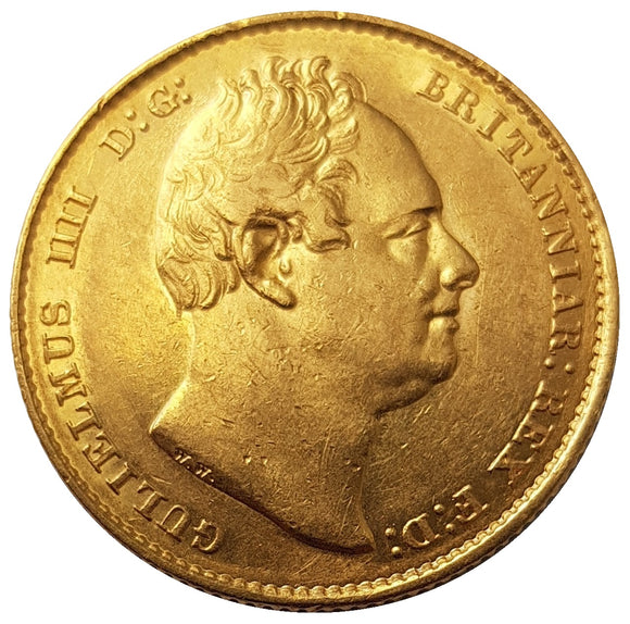 1832 William IV Full (2nd Bust) Sovereign