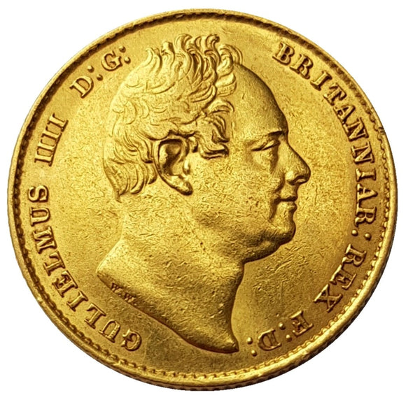 1837 William IV Full (2nd Bust) Sovereign