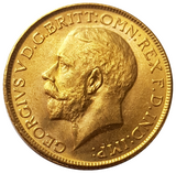 1916-M King George V Gold Sovereign (Melbourne)