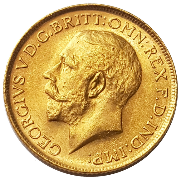 1916-S King George V Gold Sovereign (Sydney)