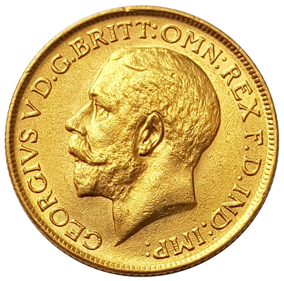1919-S King George V Gold Sovereign (Sydney)