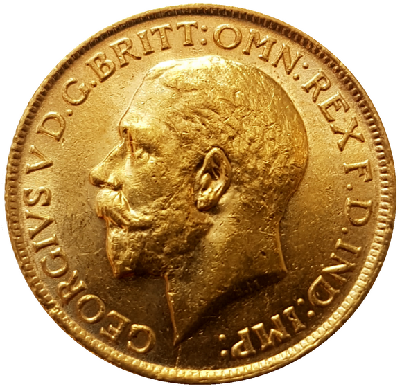 1924-S King George V Gold Sovereign (Sydney) Extremely Rare