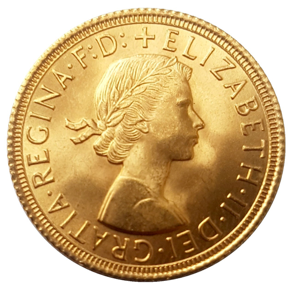 Queen Elizabeth II Sovereigns 1957-1968