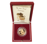 Proof Sovereigns 1985-1997 by Raphael Maklouf - Presentation Case and COA