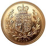 Queen Elizabeth II 4th Portrait Sovereigns 2000-2015 Complete date series (16 Sovereigns)