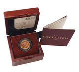 2017 Queen Elizabeth II Strike on the Day '200th Anniversary' Gold Sovereign