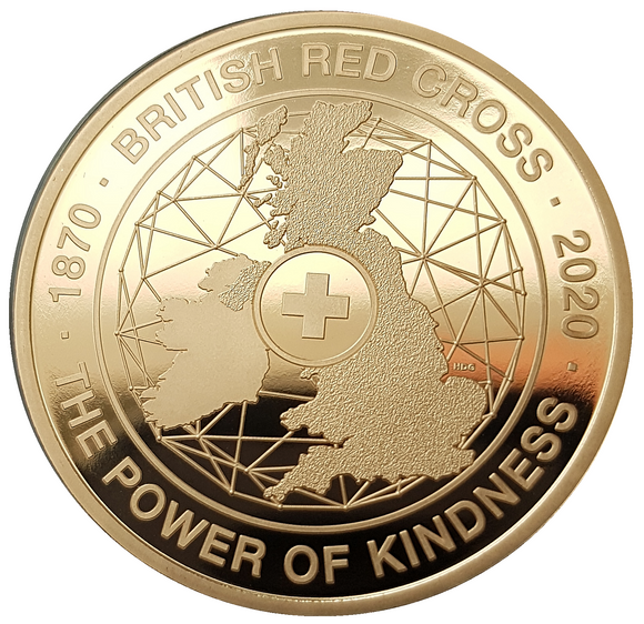 2020 150th Anniversary of the British Red Cross UK £5 Gold Proof Coin
