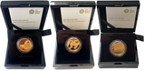 2020 Queen Elizabeth II 'James Bond' 999.9 1 oz Gold Proof 3 Coin Set