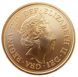 2020 Queen Elizabeth II BU Matt Finish 200th Anniversary Gold Sovereign
