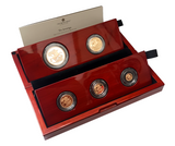 2021 Queen Elizabeth II 5 Coin '95th Birthday' Gold Proof Sovereign Set