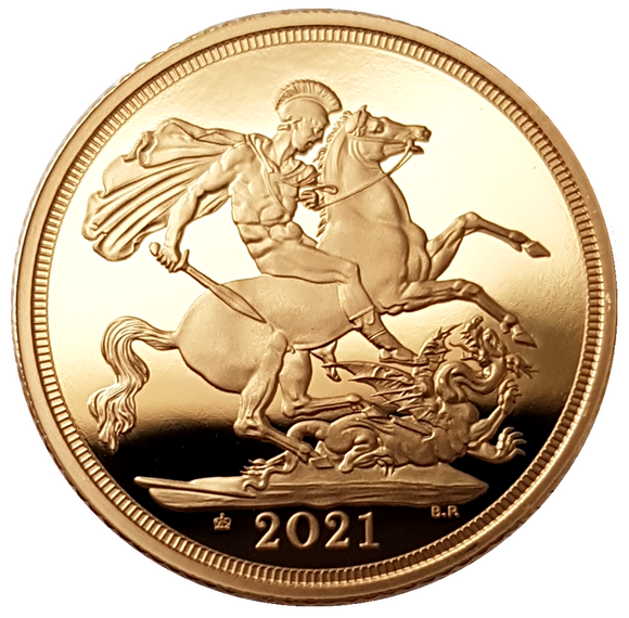 2021 Queen Elizabeth II Proof Full Sovereign (95th Birthday Edition)