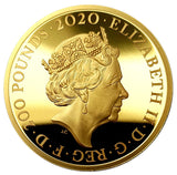 2020 Queen Elizabeth II 'Bond, James Bond' 999.9 2oz Gold Proof Coin