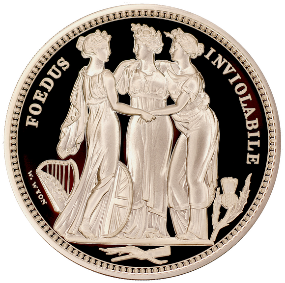 2020 The Great Engravers 'William Wyon' Three Graces 10 oz (Ten Ounce) Silver Proof Coin