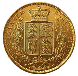 1848 Queen Victoria Shield Reverse Sovereign - STUNNING