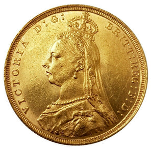 1892-S Queen Victoria Jubilee Head Gold Sovereign (Sydney)