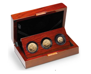 2014 Queen Elizabeth II 3 Coin Sovereign Set