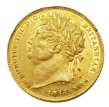 1821 George IIII Gold Full Sovereign - LUSTRE AUNC