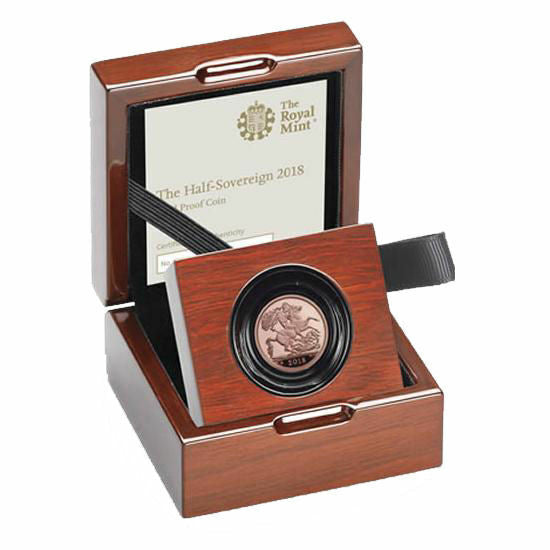 2019 Queen Elizabeth II Gold Proof Half Sovereign