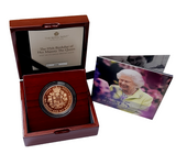 2021 Queen Elizabeth II 95th Birthday of HM the Queen 2021 £5 Gold Proof