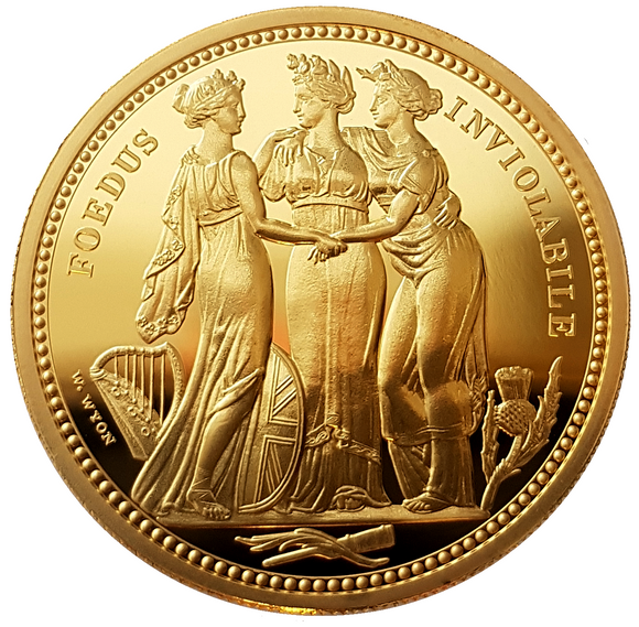 2020 The Great Engravers 'William Wyon' Three Graces 2oz Gold Proof Coin (COA #194)