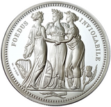2020 The Great Engravers 'William Wyon' Three Graces 2oz Silver Proof Coin