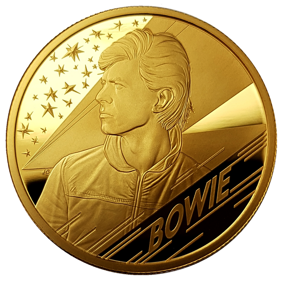 2020 Music Legends 'David Bowie' 1 oz 999.9 Gold Proof Coin