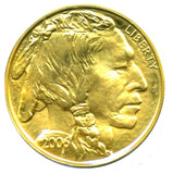 American (USA) 1 oz Fine Gold Buffaloes $50