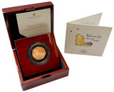 2020 Winnie The Pooh 'Honey' Gold Proof 50P - 525 issue Limit.