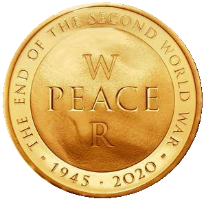 2020 Queen Elizabeth II End of the Second World War + Gold Proof £5 Boxed / COA