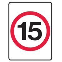 Speed Limit Sign - 15