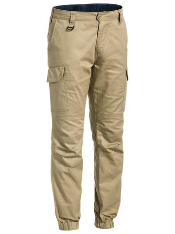 BISLEY - BPC6476 - RIPSTOP STOVE PIPE ENGINEERED CARGO PANT - KHAKI