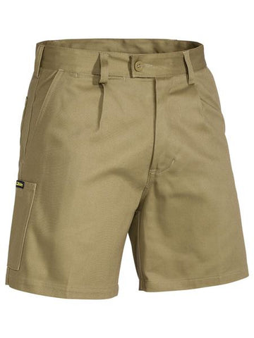 BISLEY - BSH1007 - ORIGINAL DRILL MENS WORK SHORT - KHAKI