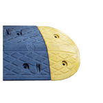 Economy Rubber Speed Hump - End Cap