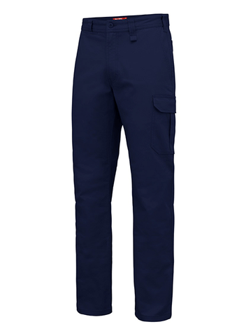 HARD YAKKA - Y02597 - BASIC STRETCH DRILL CARGO PANT - NAVY
