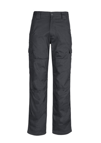 SYZMIK - ZW001 - MENS MIDWEIGHT DRILL CARGO PANT - CHARCOAL