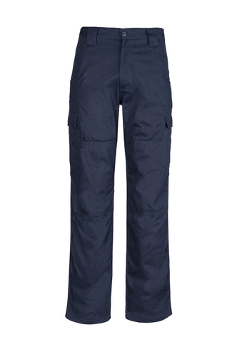 SYZMIK - ZW001 - MENS MIDWEIGHT DRILL CARGO PANT - NAVY