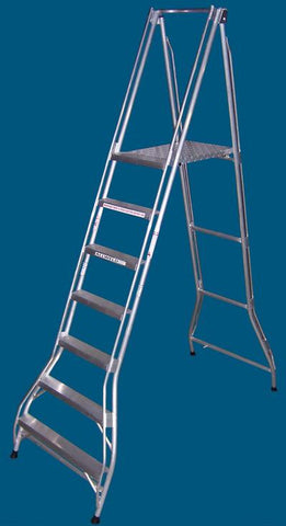 Folding Platform Ladder - 7 Steps