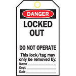 Lockout Tags - Locked Out