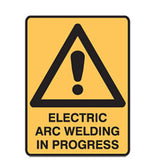 POLYPROPYLENE Building & Construction Site Signs 300mm x 450mm