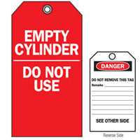 Empty Cylinder/ Do Not Use