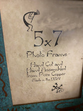 Load image into Gallery viewer, Handmade From Pure Copper 5x7 Photo Frame